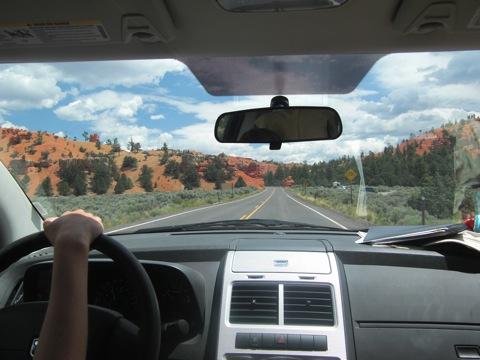 op weg naar Bryce