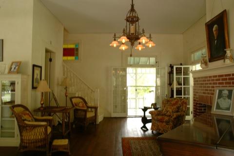 Binnenkant Thomas Edison zijn huis