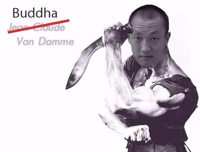 Buddha Van Damme