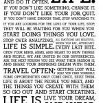 levenswijsheid over het leven