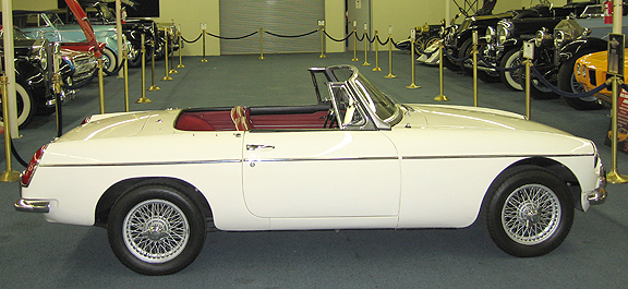 old english white mgb