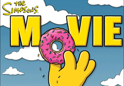 De simpsons movie