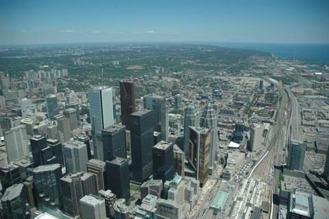 Uitzicht van de CN tower